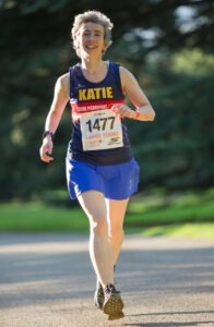 Katie Holmes runner Nottingham over 50