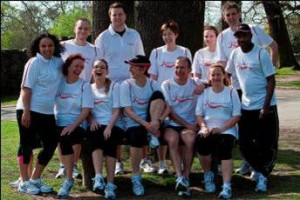 photo of a Run England running group