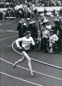 Joyce Smith British women's running history winner of Second Tokyo Intrnational Women's Marathon in 1980