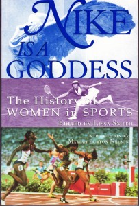 "Front cover of ""Nike is a Goddess"""