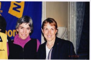 Joan Benoit Samuelson and Jacqueline Hansen
