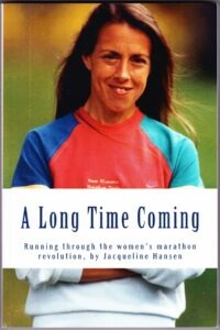 The cover of Jacqueline Hansen's book
