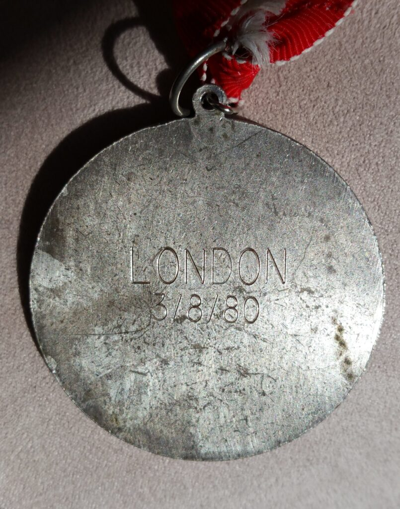 Avon International Womens Marathon London medal
