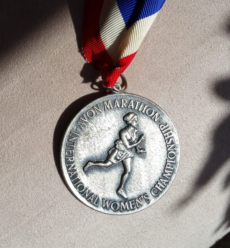 Avon London International Marathon medal