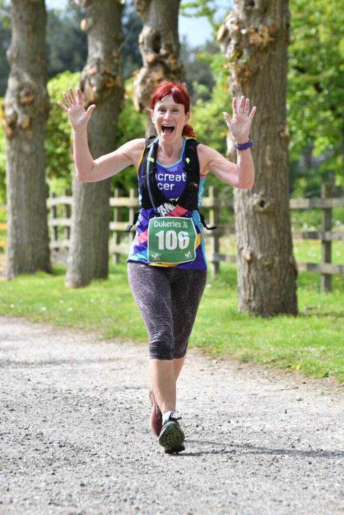 Vanessa Walker at Dukeries 30 ultrarunner ovr 60