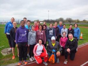 Participants on the course