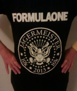 Jaegermeister 10k shirt