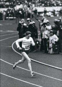 Joyce Smith British women's running history winner of Second Tokyo Intrnational Women's Marathon in 1980