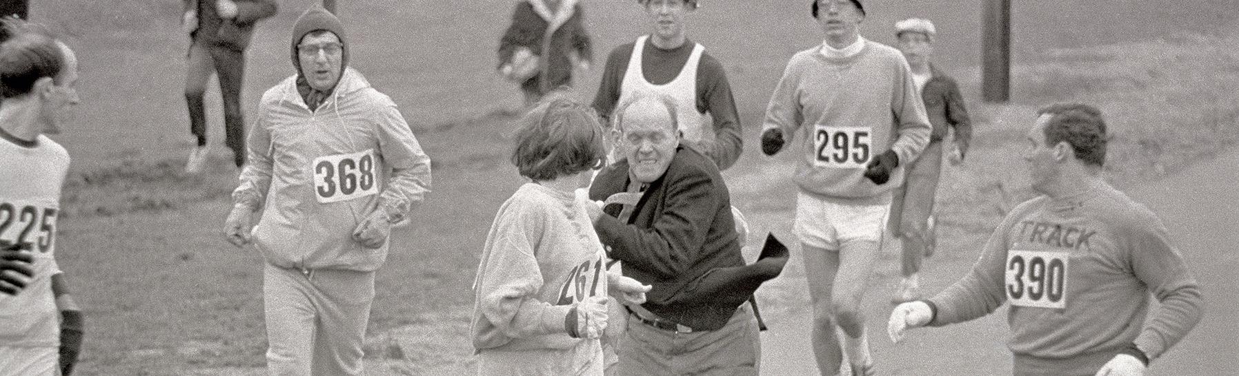 Photo from Boston Marathon 1967