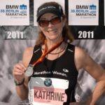 Kathrine Switzer in 2011 after Berlin Marathon