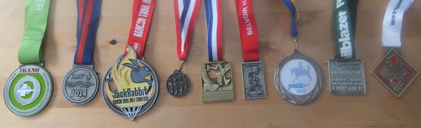 12 half marathons done