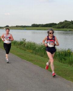 Sandy running at Holme Pierrepont