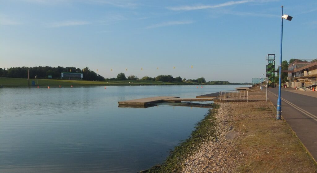 The lake at Holme Pierrepont Country Park