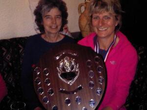 Sandy Poole and Christine Heaton