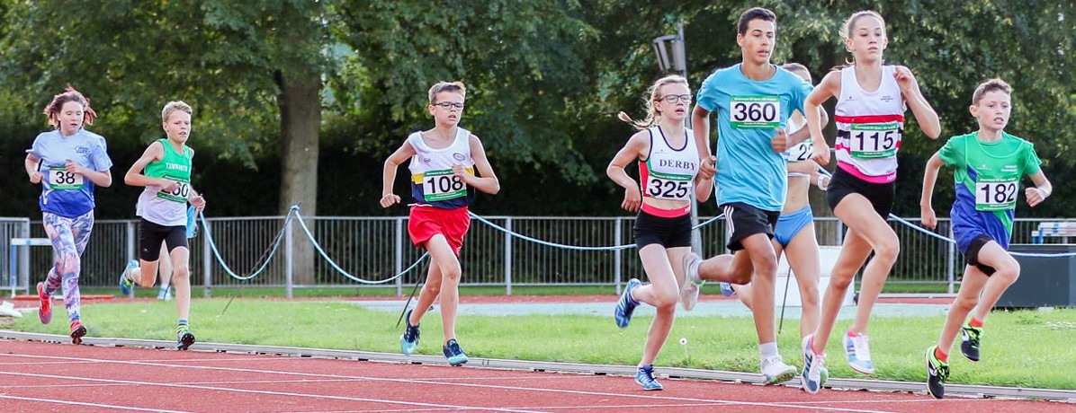 1500m race at Charnwood AC Open