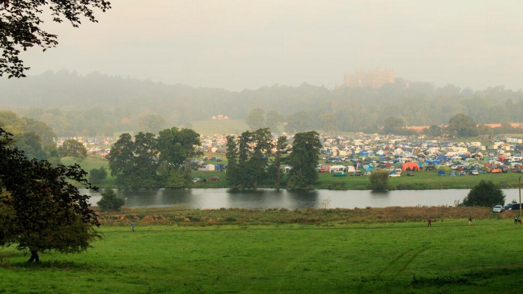 Campsite at Equinox24