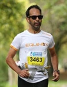Paul experienced ultrarunner over 50 at Equinox 24 hour race