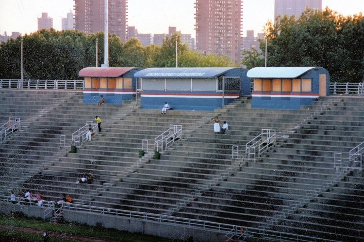 Downing Stadium site of the 1984 New York 6 Day Ultra Race