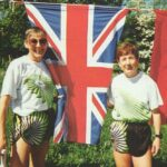 Ultrarunners Eleanor Robinson and Hilary Walker