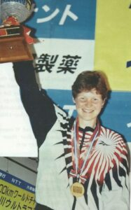 Carolyn Hunter-Rowe ultrarunner 100km World Champion 1998
