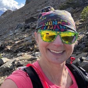 Ellen Maude trail runner over 50
