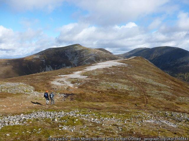 Beinn a' Ghlo Munro Perth and Kinross