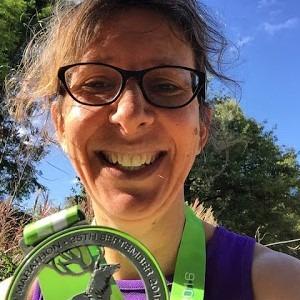 Maggie Cooper running blogger over 50