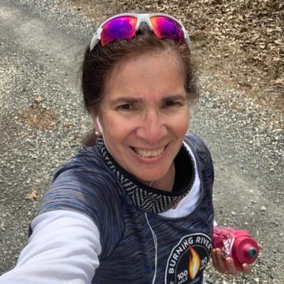 Miriam Diaz Gilbert American ultrarunner and author over 50