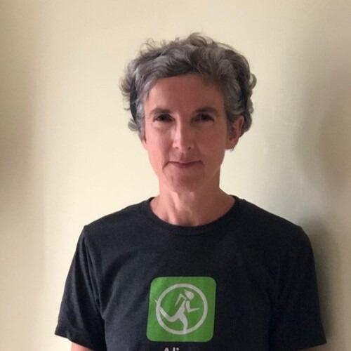 Hannah Kirkman running blogger over 50