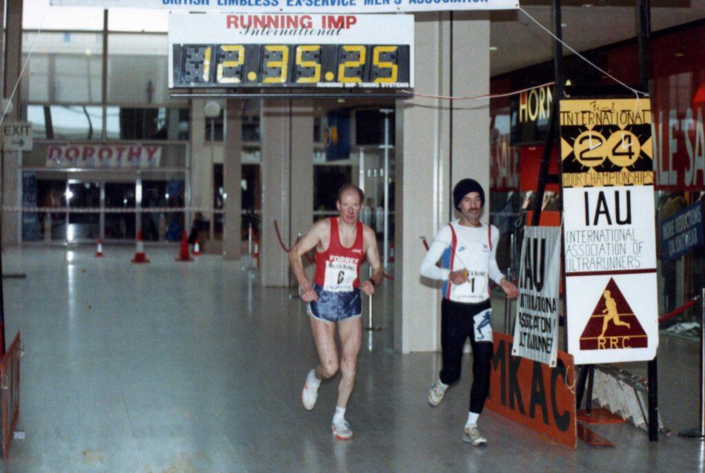 Don Ritchie at Milton Keynes 24 hour race 1990