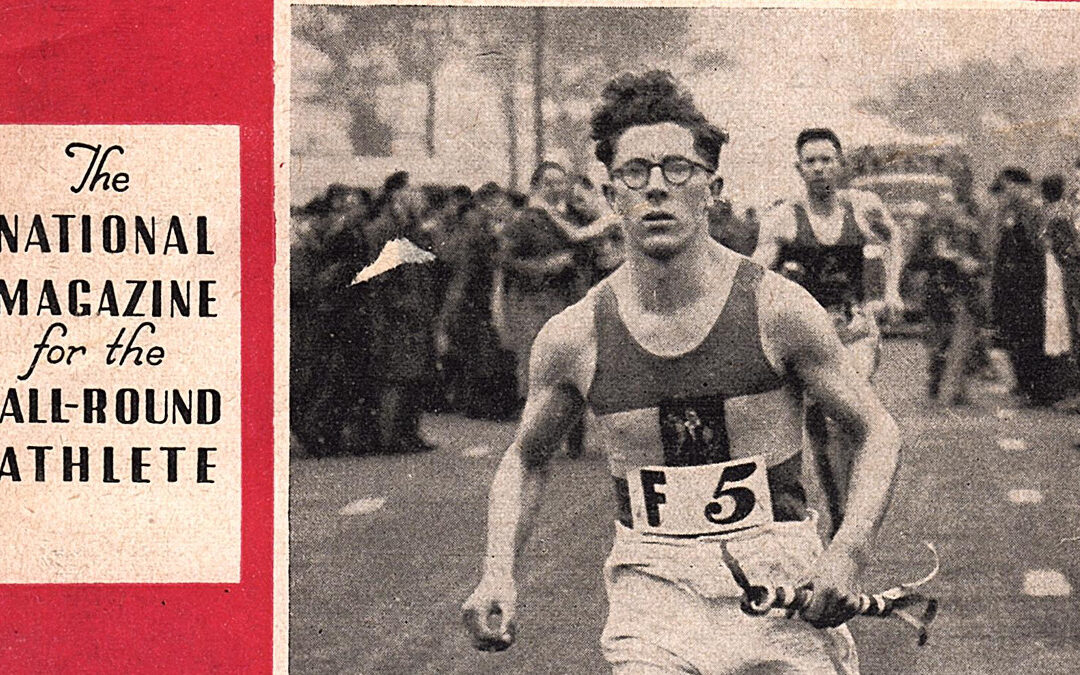 Athletic Review 1947 – post-war running