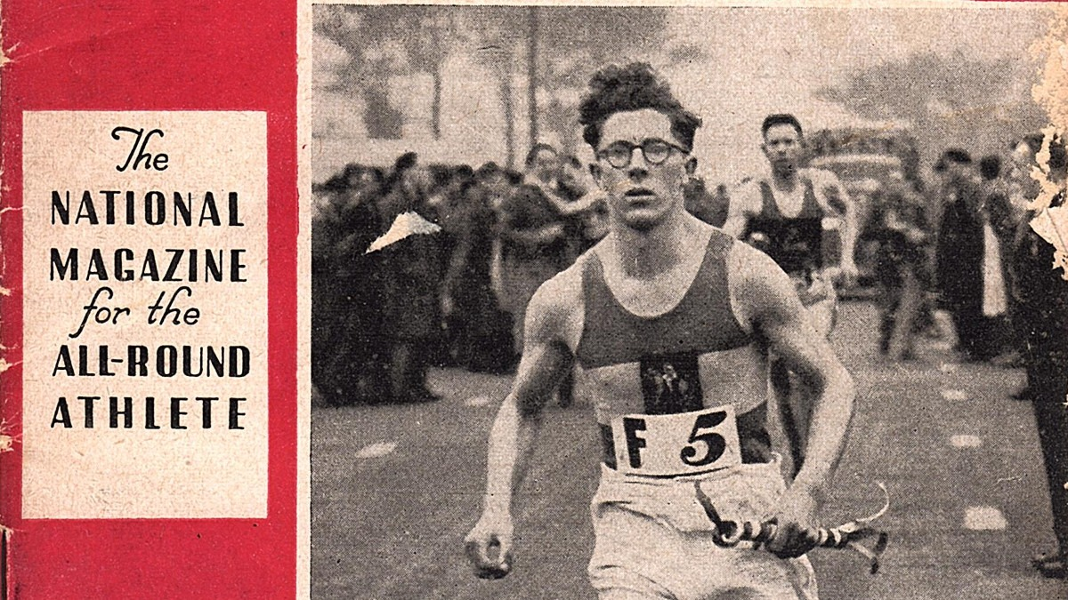 Front cover of Athletic Review 1947