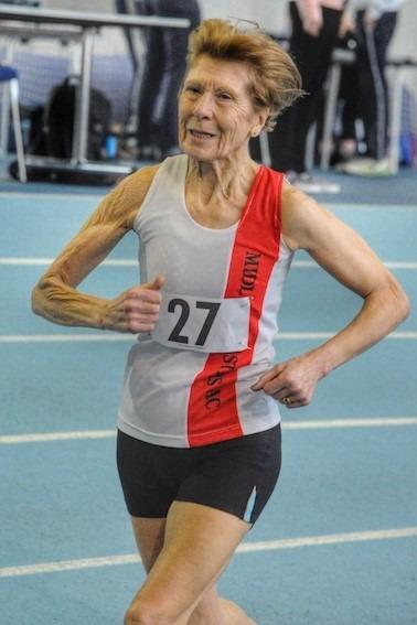 Angela Copson v70 masters athlete